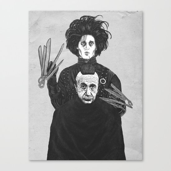 Bored With My Old Hairstyle Canvas Print