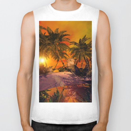 The little island Biker Tank