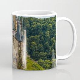 Photos Germany Eltz Castle Castles Roads forest Cities castle Forests Coffee Mug