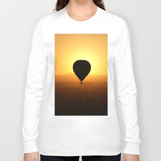 Balloon Over Valley of the Kings Long Sleeve T-shirt