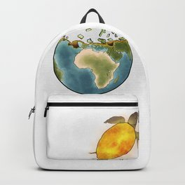 Climate changes the nature Backpack