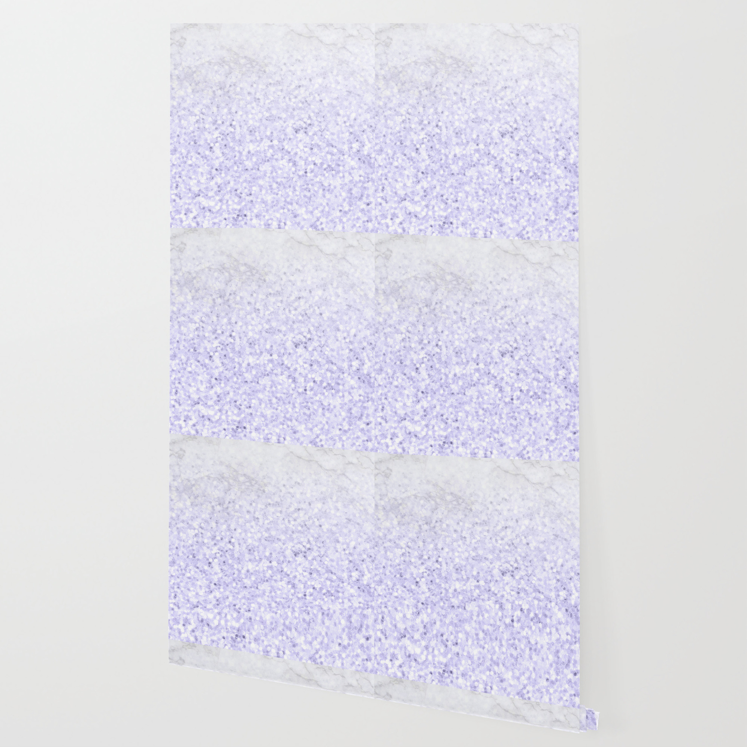 She Sparkles Pastel Purple Glitter Marble Wallpaper By Naturemagick Society6