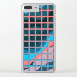 TOPOGRAPHY 2017-006 Clear iPhone Case