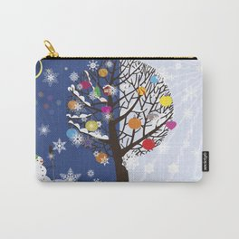 """Seasons"" Autumn-Winter Carry-All Pouch"