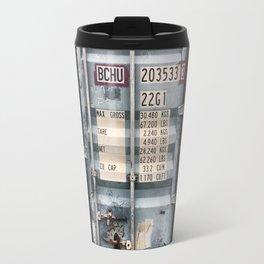 Cargo container Travel Mug