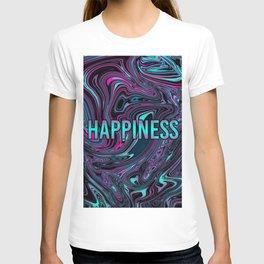 "ABSTRACT LIQUIDS HAPPINESS ""51"" T-shirt"
