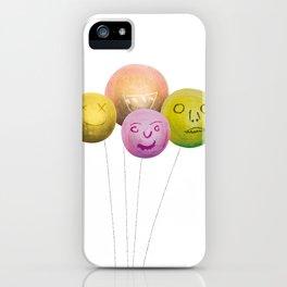 Happy Balloons iPhone Case