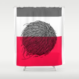 Worms' Ball XIV Shower Curtain