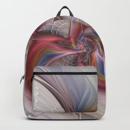 Abstract Dancing, Fractal Art Backpack