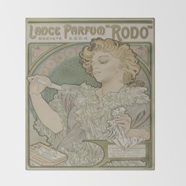 Vintage poster - Rodo Throw Blanket