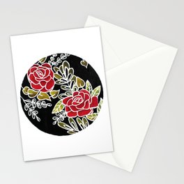 Floris noctis: rosae Stationery Cards