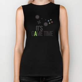 It's Game Time Biker Tank