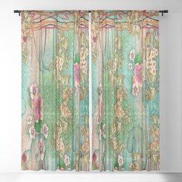 Bohemian Gems Sheer Curtain