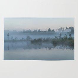 The morning mist Rug