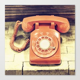 Vintage Phone Canvas Print