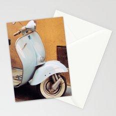 Vespa blu Stationery Cards