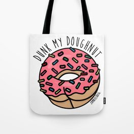 Dunk My Doughnut Tote Bag