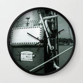 Dock Machinery Wall Clock