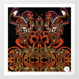 Colour Chart [Abstract Digital Illustration] Art Print