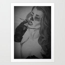 Devines zombies #1 Art Print