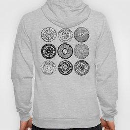 New York City Manhole Covers 3x3 Hoody