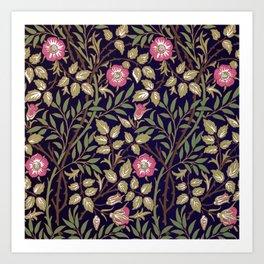 William Morris Sweet Briar Floral Art Nouveau Art Print