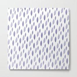 Purple Leaves Metal Print