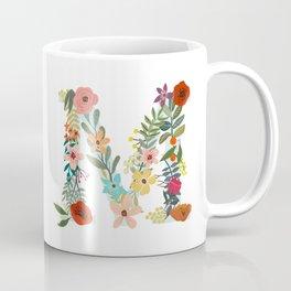 Monogram Letter M Coffee Mug