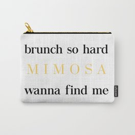 Brunch for Mimosas Carry-All Pouch