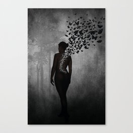 The Butterfly Transformation Canvas Print