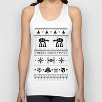 May the Christmas Spirit be with you. Unisex Tank Top