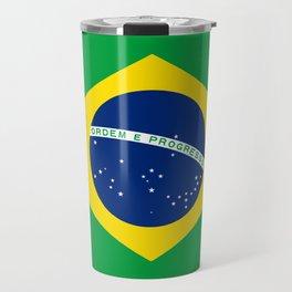 Brazil flag - Brazilian Flag Travel Mug