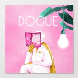 Dogue - Albert Camus Canvas Print