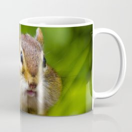 Caught With His Mouth Full Coffee Mug