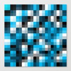 Pixelation Canvas Print