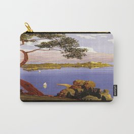 Vintage poster - Lake Garda Carry-All Pouch