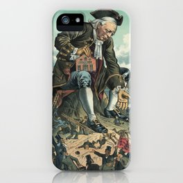 Gulliver and the Liliputians iPhone Case