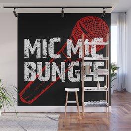 Mic Mic Bungee Wall Mural