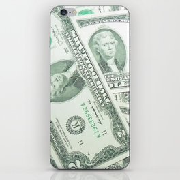 Money Money Money  iPhone Skin