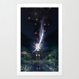 Star Catcher Art Print