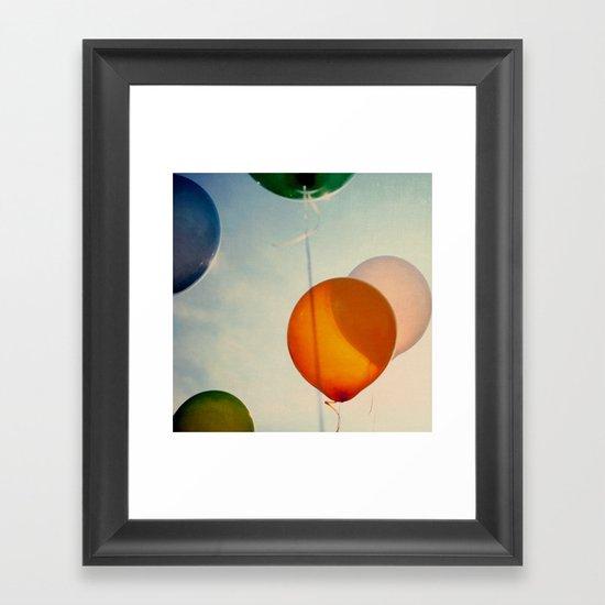 Happiness... Framed Art Print