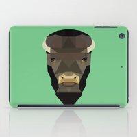 buffalo iPad Cases featuring Buffalo by Alysha Dawn