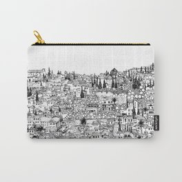 Albaicin View from the Alhambra, Granada, Spain Carry-All Pouch