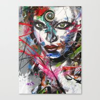 third eye Canvas Prints featuring third eye by yossikotler