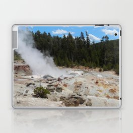 Yellowstone Geyser Laptop & iPad Skin