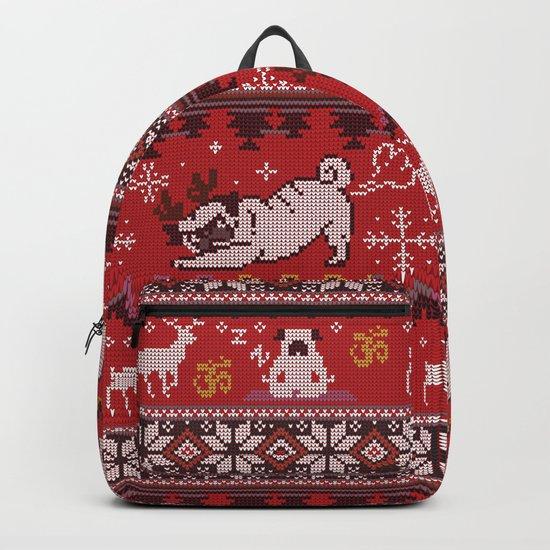 Pugly Yoga X-Mas Backpack