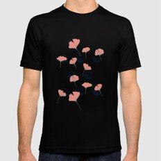Delicate Ginkgo&Dots #society6 #decor #buyart Mens Fitted Tee MEDIUM Black