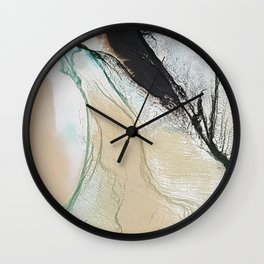 Joined in Paradise Wall Clock