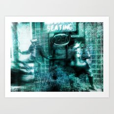 the Brothers Blue Art Print
