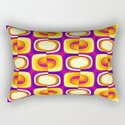 retro pattern yellow,purple,orange by clemm
